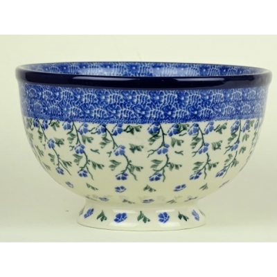 Bunzlau bowl on foot 18.5cm *A15-1823*