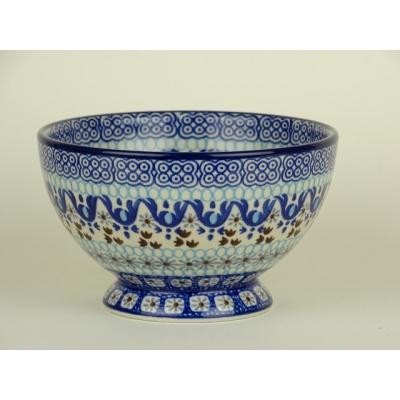 Bunzlau bowls on foot 14 cm *206-1026 *