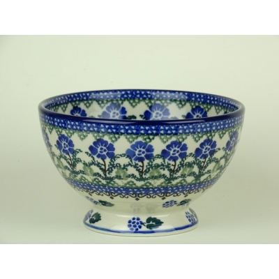 Bunzlau bowl on foot 14 cm *206-1069 *