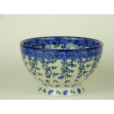 Bunzlau bowl on foot 14 cm *206-1823 *