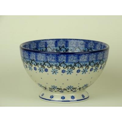 Bunzlau bowls on foot 14 cm *206-1932 *