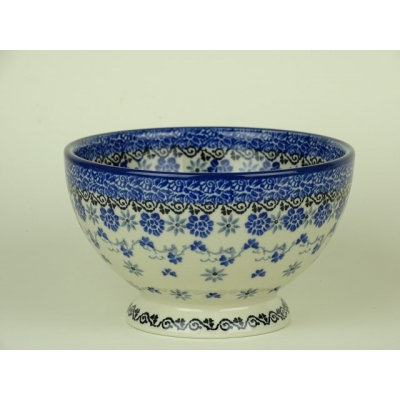 Bunzlau bowl on foot 14 cm. * 206-2009  *