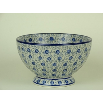 Bunzlau bowl on foot 14 cm *206-2068 *
