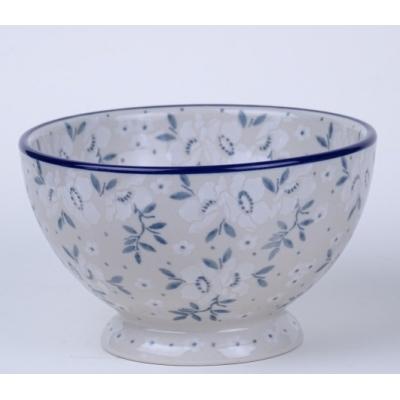 Bunzlau bowl on foot * 206-2497 *
