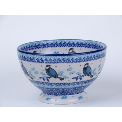 Bunzlau bowls on foot 14 cm  * 206-2674 *