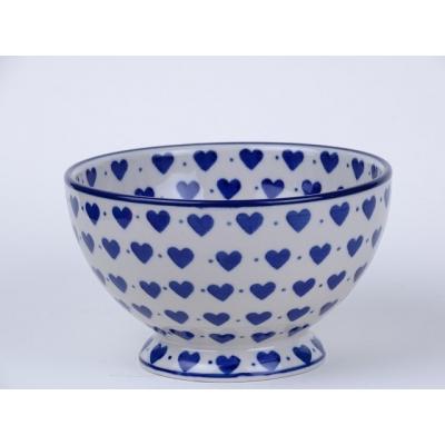 Bunzlau bowls on foot 14 cm *206-570*