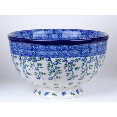 Bunzlau bowl on foot 18.5cm  * A15-1823 *