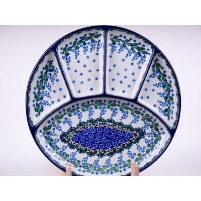 Bunzlau fondue bord 26 cm * 498-1473 *