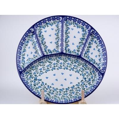 Bunzlau fondue bord 26 cm * 498-1821 *