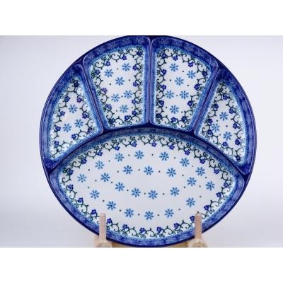 Bunzlau fondue bord 26 cm * 498-1830 *