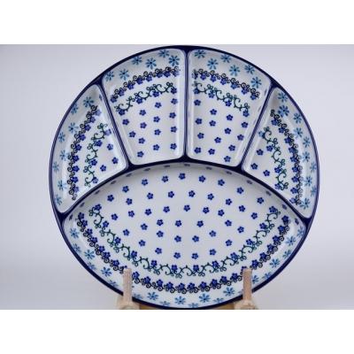 Bunzlau fondue bord 26 cm *498-1834 *