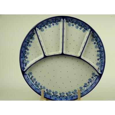 Bunzlau fondue bord 26 cm *498-1835 *