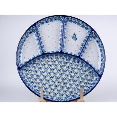 Bunzlau fondue bord 26 cm *498-1839 *