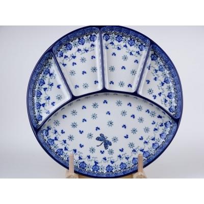 Bunzlau fondue bord 26 cm * 498-2009 *