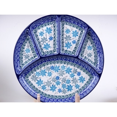 Bunzlau fondue bord 26 cm * 498-2543 *