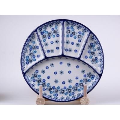 Bunzlau fondue bord 21 cm * 499-2084  *