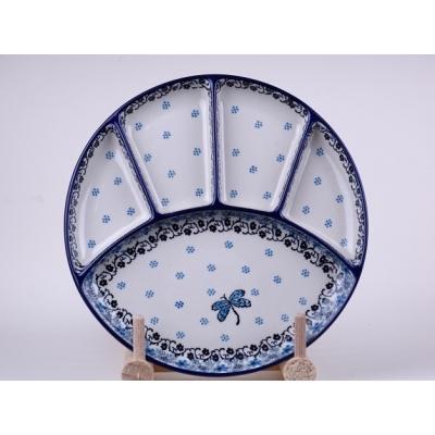 Bunzlau fondue bord 21 cm * 499- libelle *