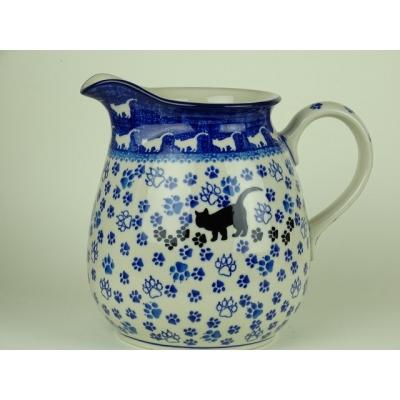 Bunzlau sap/ melk kan 1,5 liter *077-1771 *