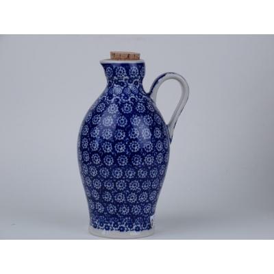 Bunzlau olie / azijn vaatje  0,5 L. * B85-884 *