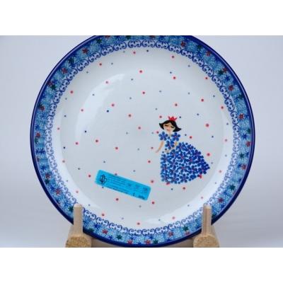 Bunzlau ontbijtbord 20 cm *086 -prinses *