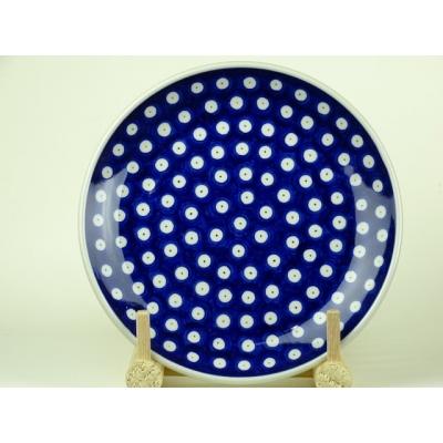 Bunzlau ontbijtbord met witte rand * 086-70A *