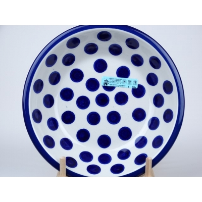 Bunzlau pasta bord 21 cm *026-36 *