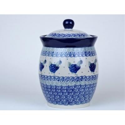 Bunzlau voorraad/ kruiden pot 17 cm * 104-2597 *