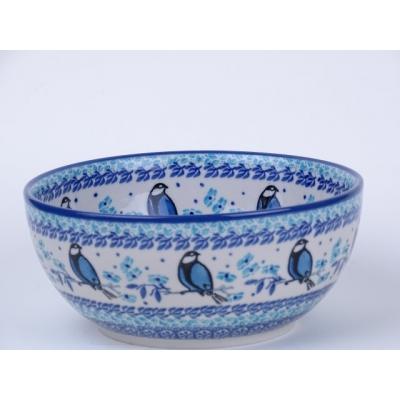 Bunzlau rijst schaal 16/ 7 cm * C38-2674 *