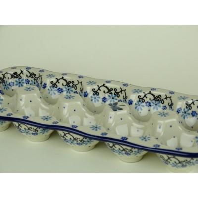 Bunzlau eierschaal 10 stuks * C29-1944 *