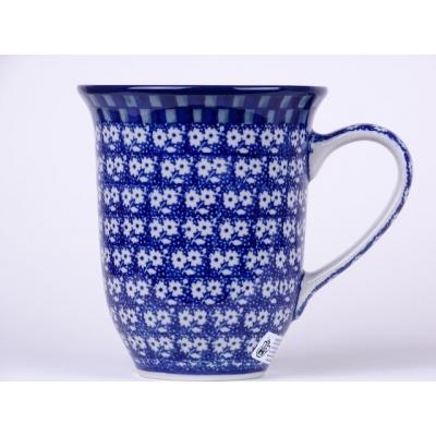 Bunzlau grote tulp mok 450 ml. * 826-blauw *